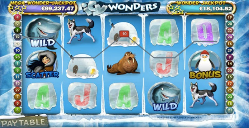 icy wonders slot